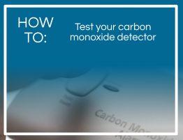 How To: Test Carbon Monoxide Detector