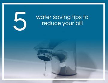 Water Saving Tips